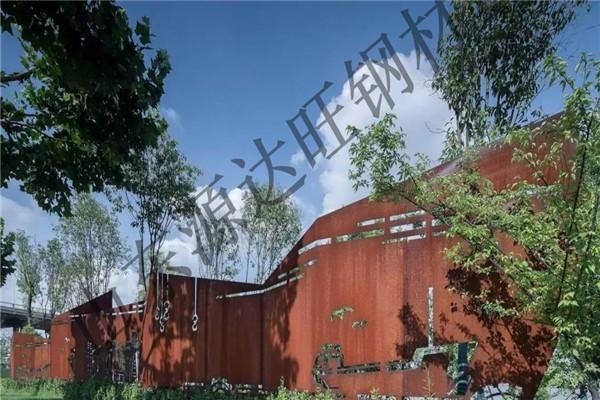 宁波Q355NH耐候钢板作为景观墙有哪些优点?